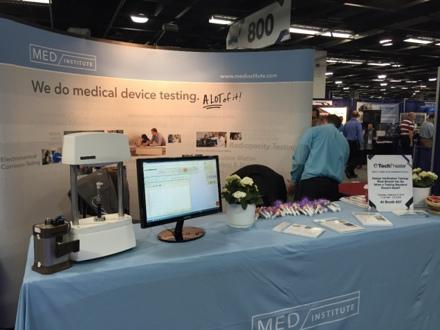 MD&M West Booth Tester